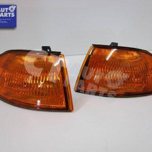 JDM Amber Corner Indicator Light for 91-95 Honda Civic EG 4D Sedan-0
