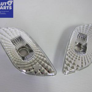Clear Fender Side Reflector Indicator Lights for 00-02 Subaru Impreza WRX STi-0