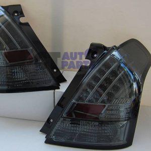 Smoked LED Tail light for 04-10 Suzuki Swift Sport-0