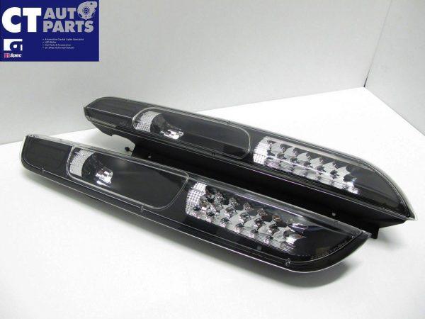 Black LED Tail Lights for 04-07 Ford Focus XR5 ZETEC-3980
