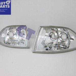 Crystal Clear Corner Indicator Lights for 92-95 HONDA CIVIC EG 3D Hatch only -0