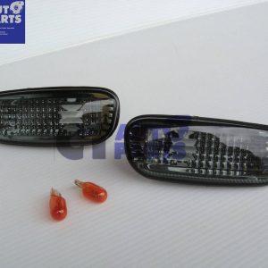 92-00 SUBARU IMPREZA WRX STI GC8 Crystal Smoked Side indicators Side markers-0