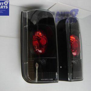 JDM Black Altezza Tail Lights for 89-03 Toyota Hiace Van-0