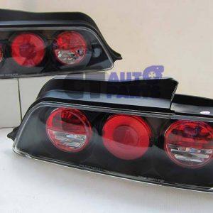 JDM Black Altezza Tail lights for 96-01 Honda Prelude VtiR VtiS Type S -0