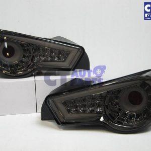 Crystal Eye Smoked LED Tail light for Toyota 86 GTS Subaru BRZ ZN-0