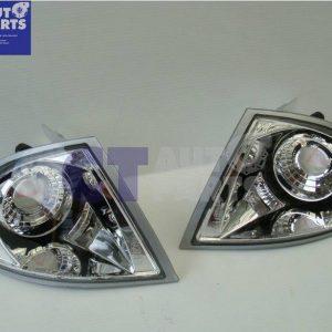 Crystal Clear Corner Signal indicator light for 98-01 BMW E46 3 Series 4D Sedan -0