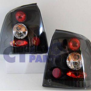 Black Altezza Tail Lights for 98-04 Holden Astra G TS 3D 5D Hatchback-0