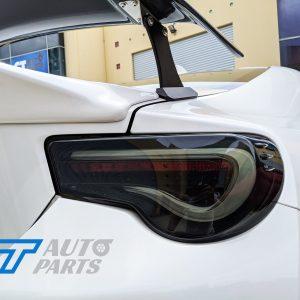 VALENTI SMOKED LED Tail light Toyota 86 GTS Subaru BRZ ZN6 Seqnential Blinker-0