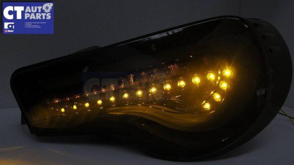 VALENTI SMOKED LED Tail light Toyota 86 GTS Subaru BRZ ZN6 Seqnential Blinker-4087