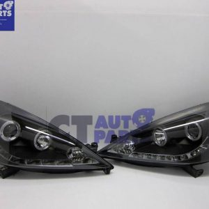 Day-Time LED DRL & CCFL Projector Head Lights headlight for Honda JAZZ FIT 08-11-0