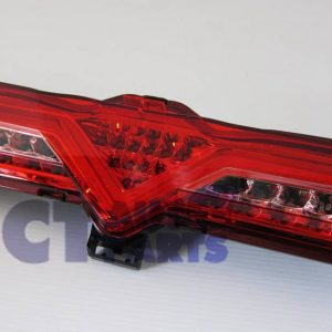 VALENTI Red Full LED Reverse Fog Lights for Toyota FT86 GT GTS Subaru BRZ ZN6-0