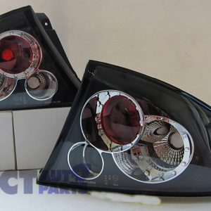 Ford Falcon AU 1998-2002 XR6 XR8 Black Altezza Tail lights - 4 Door SEDAN-0