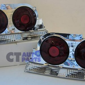 Smoked Red LED Tail Lights for 95-98 Nissan Skyline R33 GTR GTST GTS25T RB26-0