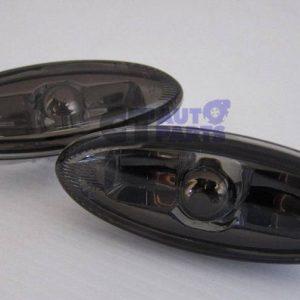 Smoke Black Side indicators side markers for 92-02 Mazda RX7 FD3S-0