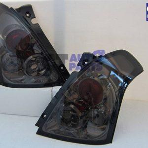 Smoked Altezza Tail Lights for 2004-2010 SUZUKI SWIFT Sport -0