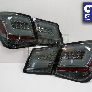 Smoked Black LED Tail Lights Holden Cruze Sedan 09-14 Taillight 4 Doors Turbo-0