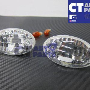 Crystal Clear Side indicators Side markers Fender light for 00-02 SUBARU IMPREZA WRX -0