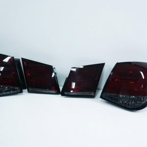 Smoked Red LED Tail Lights for Holden Cruze Sedan 09-14 Taillight 4 Doors Turbo-0