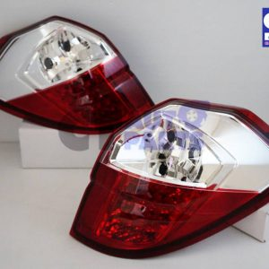 Clear Red LED Tail light for 03-09 SUBARU Legacy Liberty OutBack-0