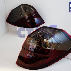 Red Smoked LED Tail light for 03-09 SUBARU Legacy Liberty OutBack-0