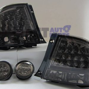 Smoked LED Tail Lights & LED Trunk Lights for LEXUS IS200 IS300 Toyota Altezza-0
