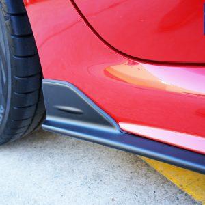 STI Style Side Skirt for 14-19 Subaru WRX STI V1 Premium Matte Black-0