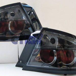 Smoked Black Altezza Ford Falcon FPV Fairmont BA BF XR6 XR8 Sedan Tail Lights-0
