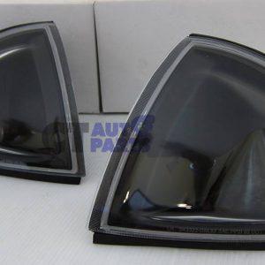 JDM Black Corner lights Signal Light for 92-97 Honda CRX Del Sol VtiR-0