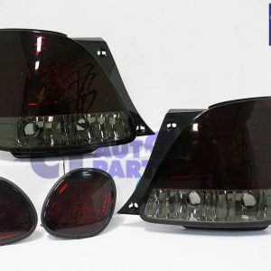 Smoked Red LED Tail Lights & LED Trunk Light for 98-05 LEXUS GS300 GS400 GS430-0