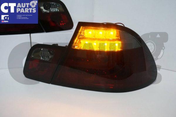 Smoked RED LED Light Bar Tail Lights BMW E46 03-05 COUPE 2DOOR 330CI 328CI 320CI 318CI-3686