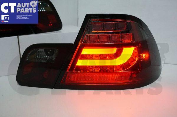 Smoked RED LED Light Bar Tail Lights BMW E46 03-05 COUPE 2DOOR 330CI 328CI 320CI 318CI-3685