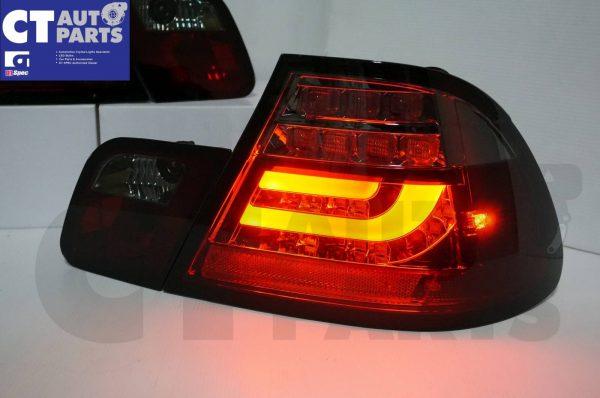 Smoked RED LED Light Bar Tail Lights BMW E46 03-05 COUPE 2DOOR 330CI 328CI 320CI 318CI-3684
