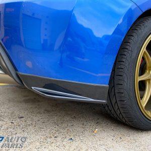 STi Style Rear Lips Bumper Lips for 12-19 Subaru BRZ Toyota 86 GT GTS-0