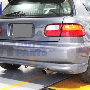 Type R Style Rear Lip for 92-95 HONDA CIVIC EG SiR Vti Si Hatch ONLY-0