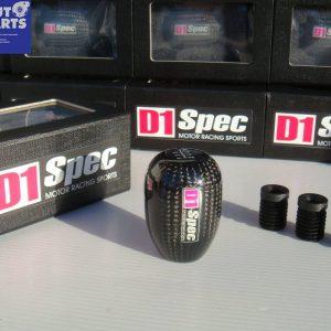 [JAPAN] D1 SPEC 5 speed M/T REAL CARBON FIBER Gear Knob-0