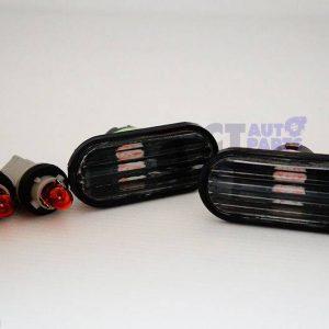 Black Side marker indicator for 92-95 Honda Civic EG S2000 CRX DC2-0