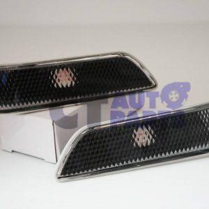 Black Bumper Side Turn Signal Light for Nissan Infinity G35 Skyline Coupe-0