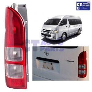 Left Passenger Side Rear Tail light Lamp for 04-10 Toyota Hiace Van Commuter LWB -0