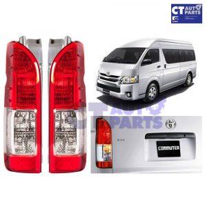 OEM Style RH+LH PAIR Tail light Lamp for 04-16 Toyota Hiace Van Commuter LWB -0