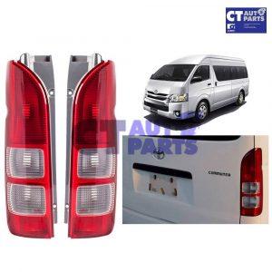 OEM Style RH+LH PAIR Tail light Lamp for 04-10 Toyota Hiace Van Commuter LWB -0