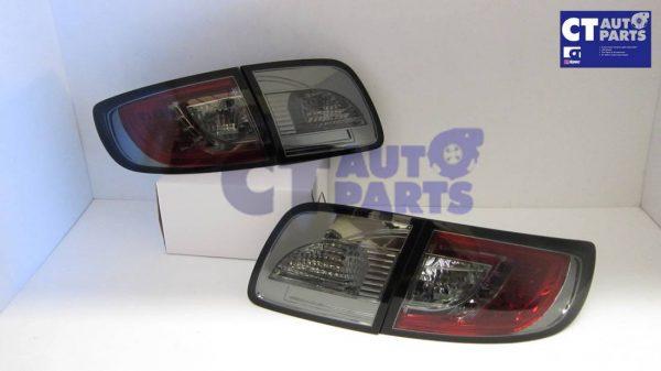 Smoked LED Tail lights for MAZDA 3 4 doors Sedan 03-09 BK Series 1 & 2-5310