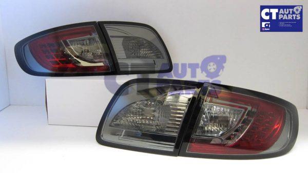 Smoked LED Tail lights for MAZDA 3 4 doors Sedan 03-09 BK Series 1 & 2-0