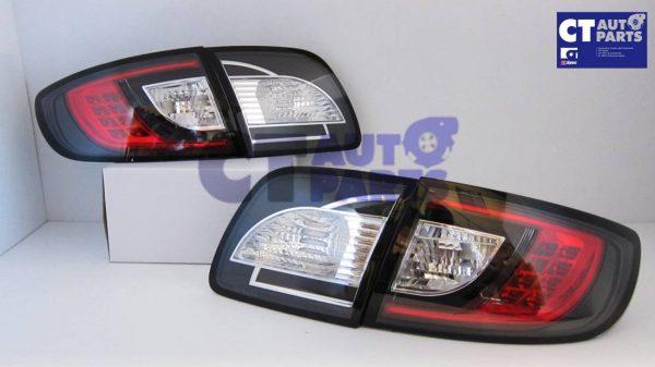 MAZDA 3 4 doors Sedan 03-09 Black LED Tail lights-5321