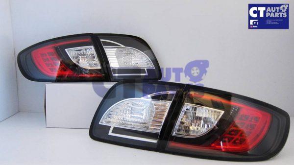 MAZDA 3 4 doors Sedan 03-09 Black LED Tail lights-5320