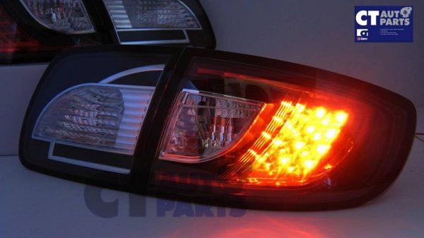 MAZDA 3 4 doors Sedan 03-09 Black LED Tail lights-5317