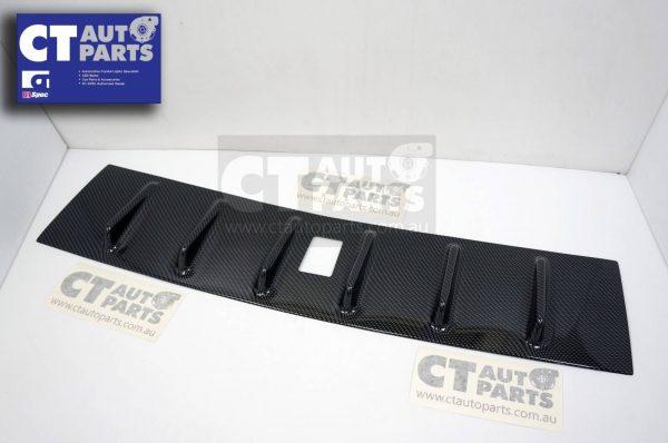 Carbon Style Vortex Generator Roof Spoiler for 07-17 Mitsubishi Lancer CJ VRX -5421