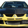 VARIS Style Carbon Fiber Font Lip for MITSUBISHI LANCER EVO 8 EVOLUTION VIII MR 4G63-0