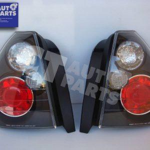 Black Altezza Tail lights for 96-01 Honda Civic EK Hatch-0
