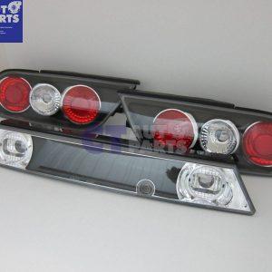 Black Altezza Tail light + Garnish for 91-98 NISSAN 180SX RPS13-0