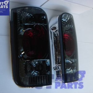 JDM Smoked Altezza Tail Lights for 89-03 Toyota Hiace Van-0